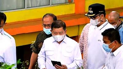 Menteri PPN/Kepala Bappenas Kagumi Geopark Nasional Ngarai Sianok Maninjau
