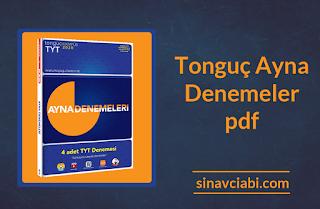 Tonguç Ayna Denemeler pdf