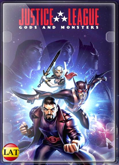 La Liga de la Justicia: Dioses y Monstruos (2015) DVDRIP LATINO