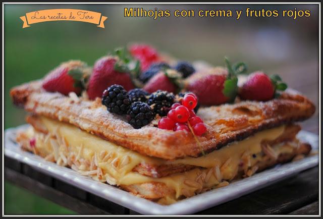 milhojas rellenas de crema pastelera y frutos rojos 02