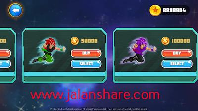 Free Download Goku Saiyan Battle Mod Apk Terbaru Full For Android