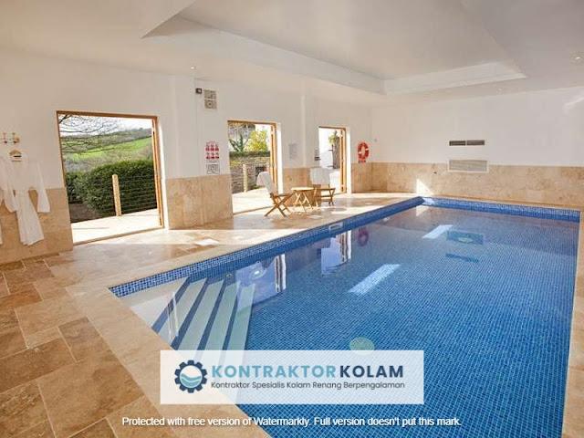 desain kolam renang indoor pool Kupang