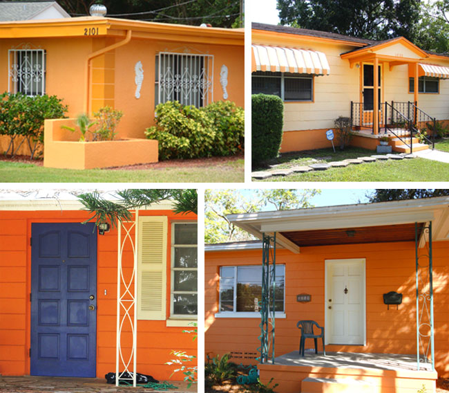 Would You Paint Your House Orange All Things Ruffnerian A Design Blog And More Hy