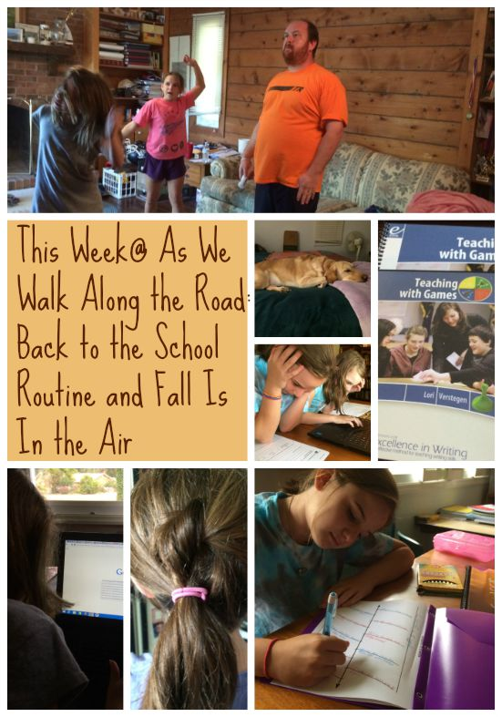 A look at our week in homeschool and family