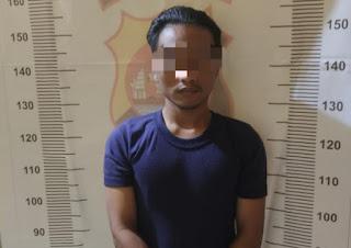 Kantongi Sabu, Pria Asal Tenjoayu Tanara Ditangkap di Kp. Jenggati Kedaung Mekarbaru