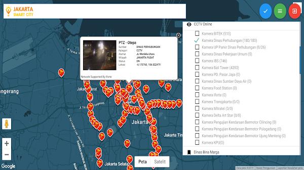 Pantau Kemacetan Jakarta Hari Ini Menggunakan CCTV Online