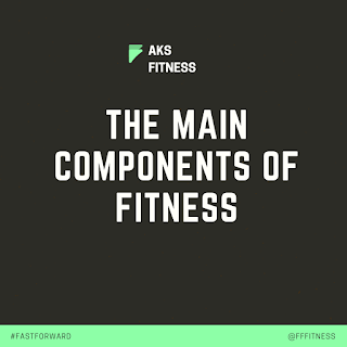The main components of Fitness