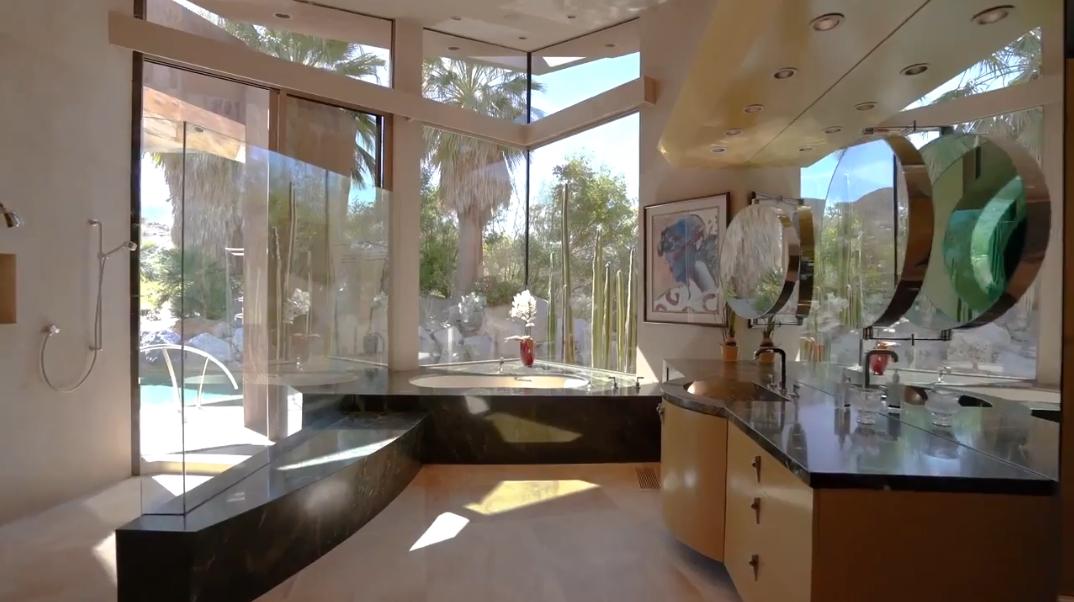 21 Interior Design Photos vs. 632 Pinnacle Crest, Palm Desert, CA Luxury Modern Mansion Tour