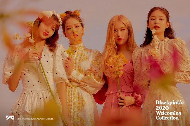 "Intip Foto Cantik Anggota BLACKPINK Untuk ""2020 Welcoming Collection"""