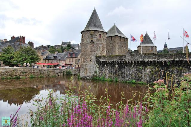 Castillo de Fougères, Francia