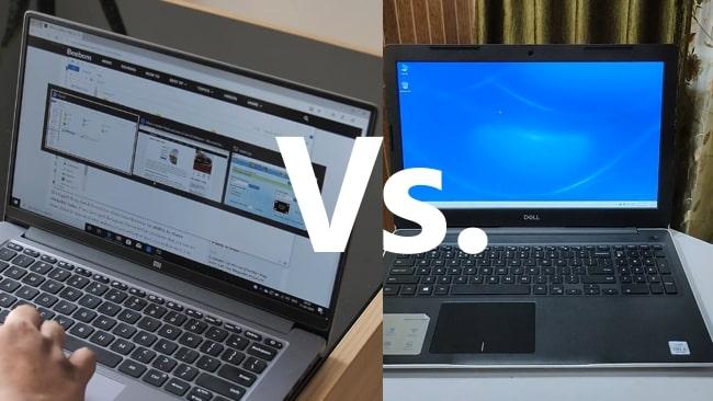 Mi Notebook 14 Horizon vs Dell Inspiron 3493 Face-off.