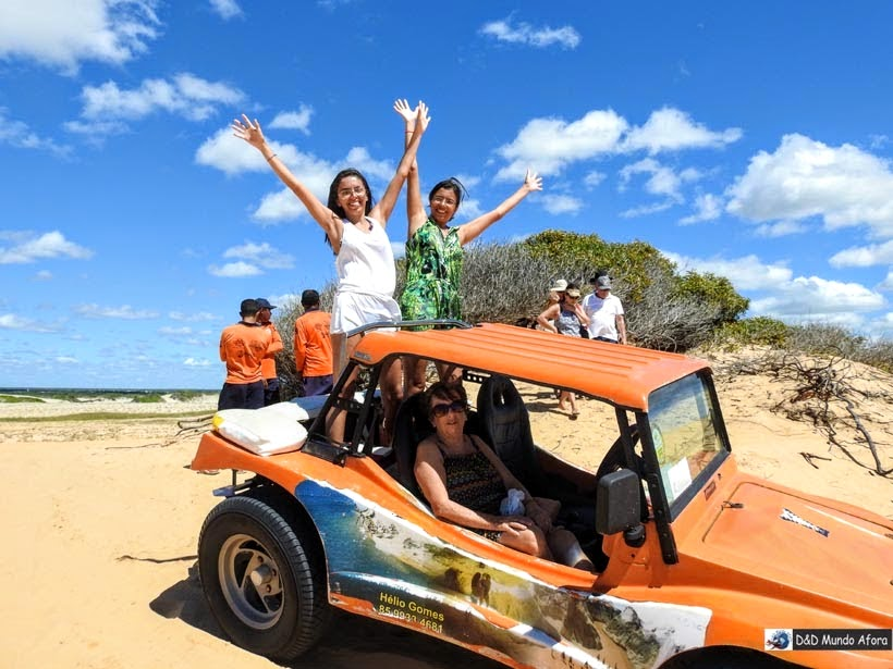 Morro Branco - Passeio de buggy depois dos 60 anos