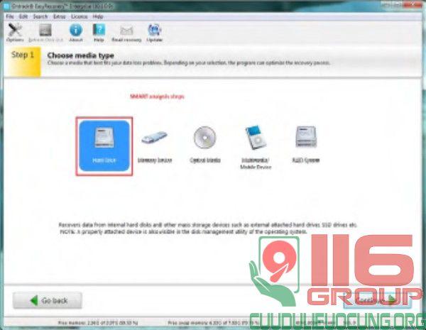 Bán phần mềm cứu dữ liệu HDD phiên bản doanh nghiệp