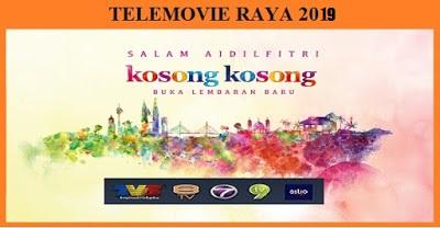 Senarai Telemovie Raya 2019