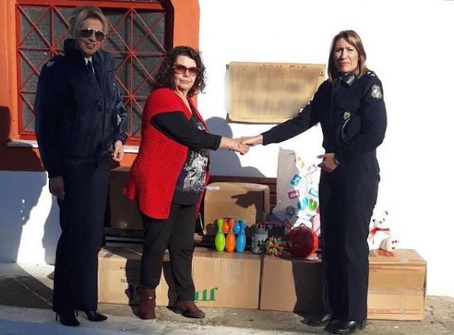 Φιλανθρωπική βοήθεια από τους Αστυνομικούς της Αργολίδας στην Ευαγγελίστρια Ναυπλίου