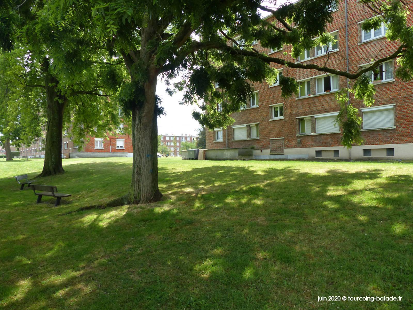 Résidence Drancourt, Pont de Neuville, Tourcoing 2020