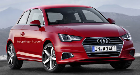 Next-Gen Audi A1 Comes To Life Through Realistic Rendering