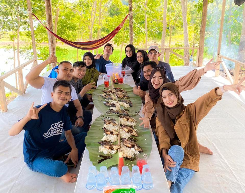 Asiknya Berenang di Talau Pusako, Wisata Air Alami di Kampar Riau, Harga tiket Talau Pusako