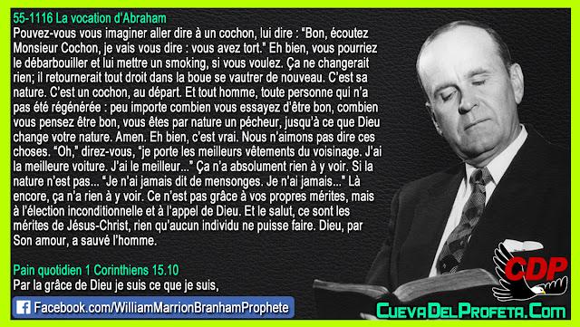 Monsieur Cochon, par nature un pécheur - William Branham