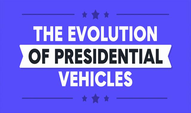 Development of presidential vehicles #infographic
