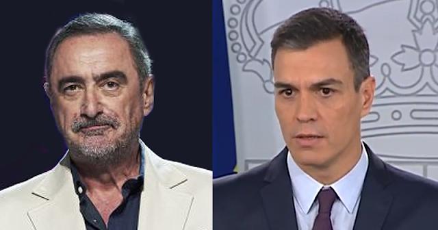 Carlos Herrera y Pedro Sánchez