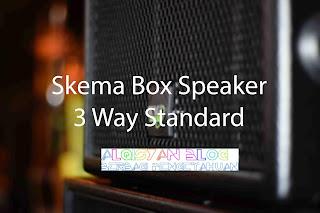 Skema Box Speaker 3 Way standar