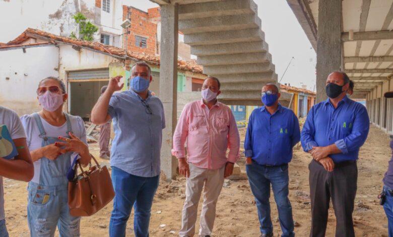 Prefeitura de Juazeiro acompanha fiscalização de reforma do Mercado Joca de Souza Oliveira - Portal Spy Notícias de Juazeiro e Petrolina