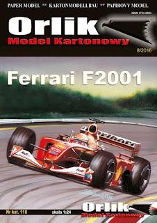 Ferrari F2001 - Michael Schumacher and  Rubens Barrichello - Monaco GP 2001 (ORLIK)