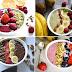 4 Smoothie bowls Recipes | Healthy Breakfast & Desserts