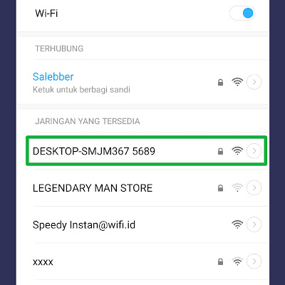 detection mobile hotspot