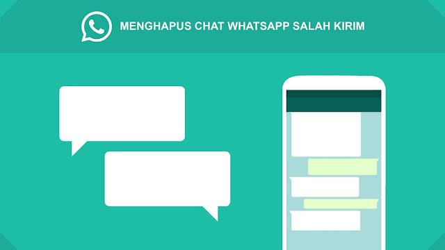 hapus chat salah kirim whatsapp