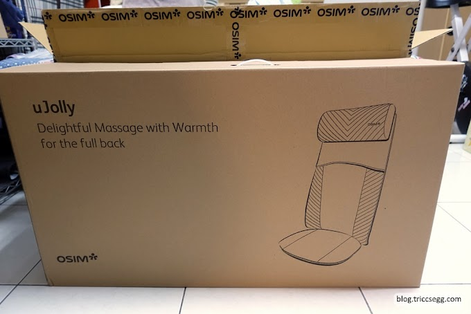 [開箱]OSIM uJolly OS-260背樂樂按摩椅墊-小空間的肩頸痠痛救星。