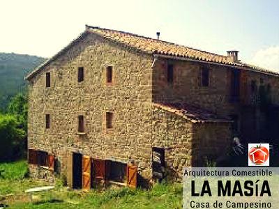 En Cataluña las Masías se han convertido en las construcciones más representativas