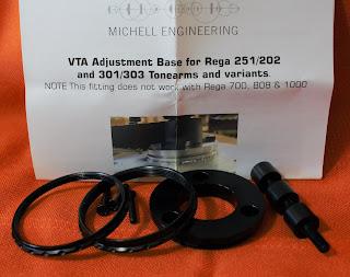 Michell Engineering 3 Point VTA for Rega Tonearm (sold) Michell%2Bvta%2B2