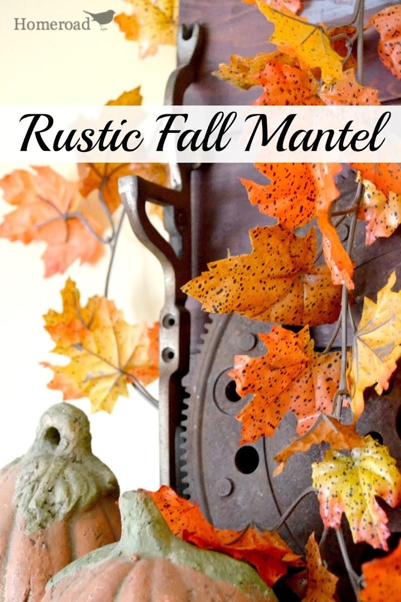 Fall Decorating & Mantel