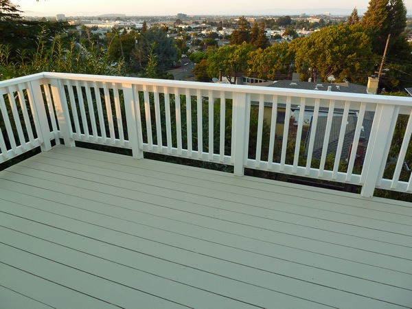 How To Paint Deck Railing