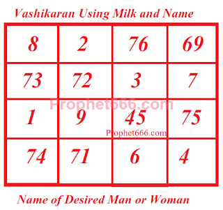 Vashikaran by Name and Doodh