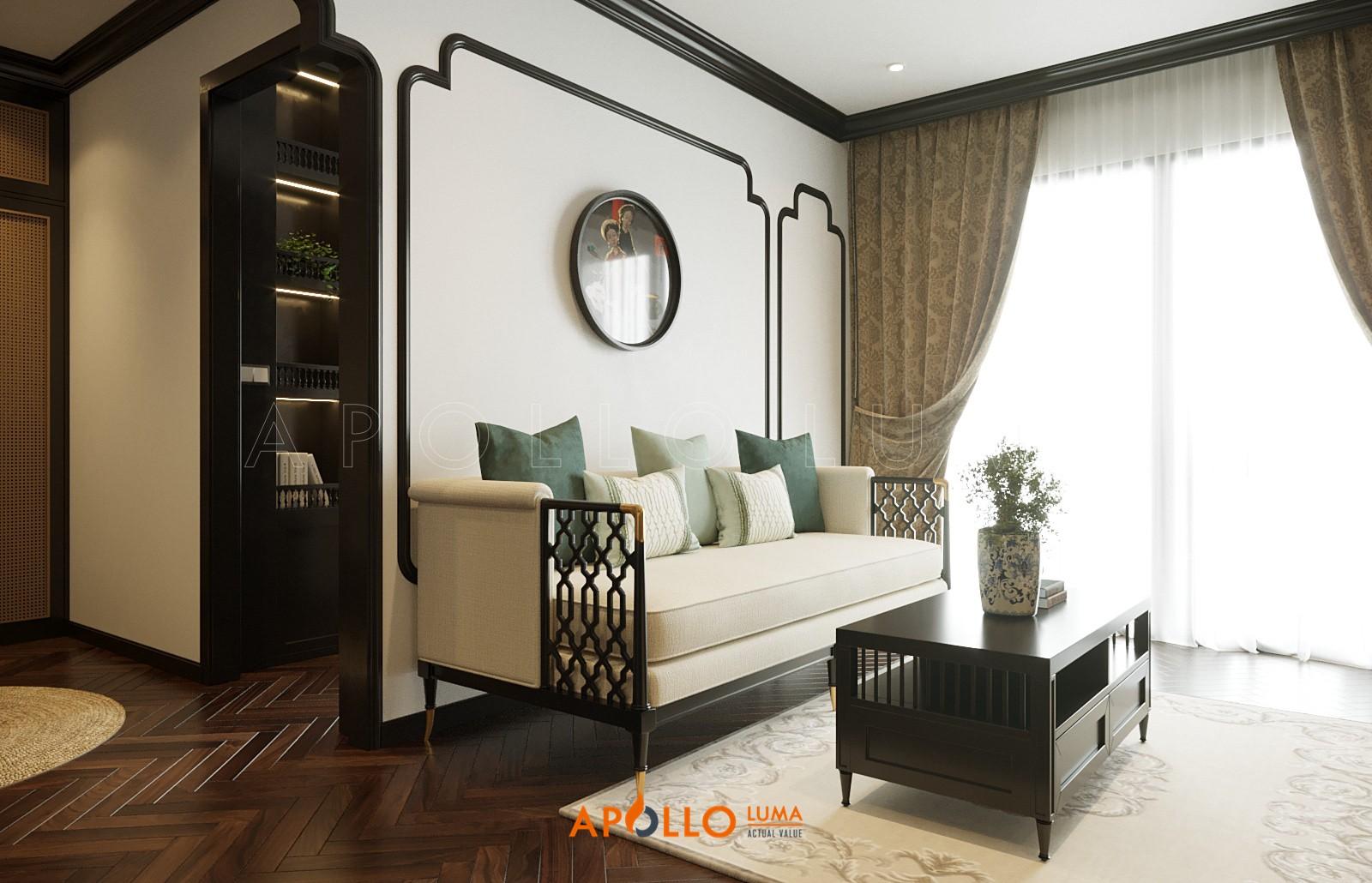 Thiết kế nội thất căn 1PN+1 (43m2) S4.01-19 Vinhomes Smart City