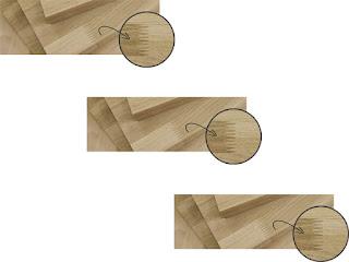 gỗ sồi ghép mộng đứng