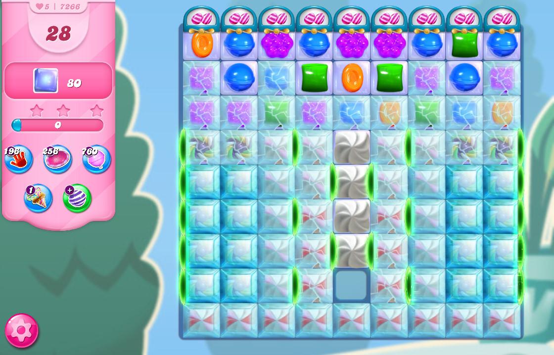 Candy Crush Saga level 7266