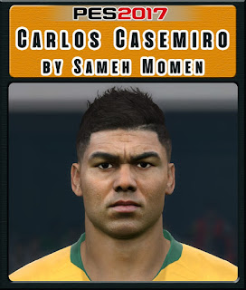PES 2017 Faces Casemiro by Sameh Momen