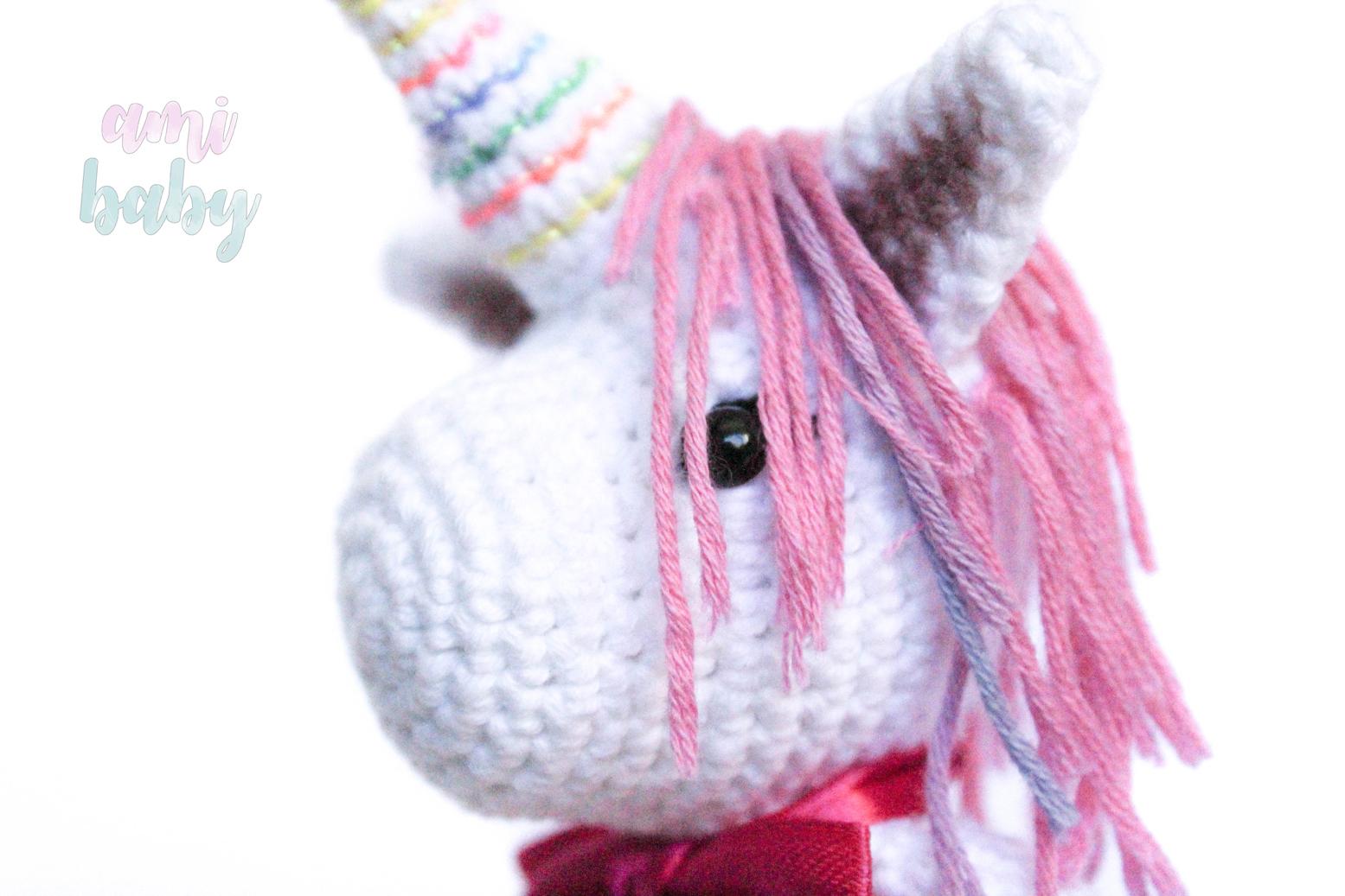 Pequeño bebe Unicornio | Amigurumi patrones gratis, Bebé unicornio ... | 1037x1555