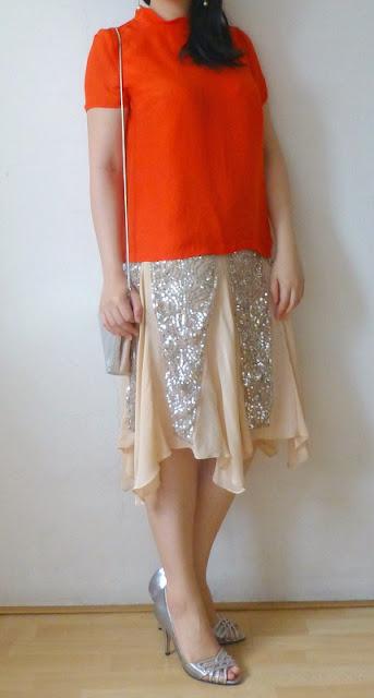 ck-calvinklein-silver-sequin-skirt
