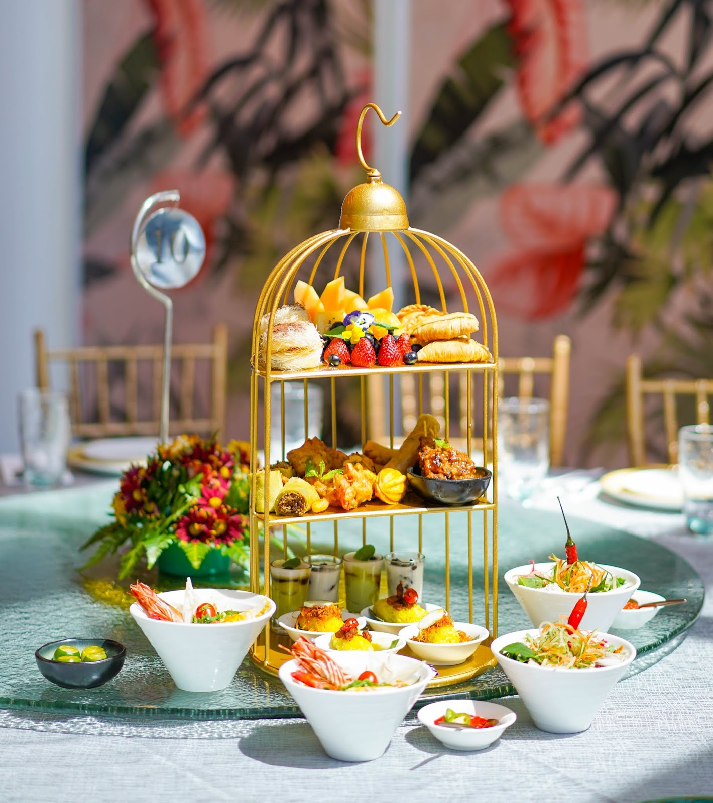 de.wan 1958 by chef wan: high tea set & malaysian tea delights menu