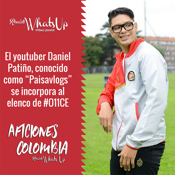 youtuber-Daniel-Patiño-Paisavlogs-elenco-O11CE,-Disney-XD