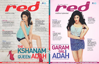 Adah Sharma Hot Pictures From Red Magazine Latest Issue