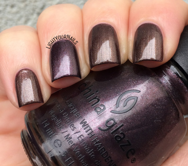 NYC Leather and Mink vs China Glaze Bogie