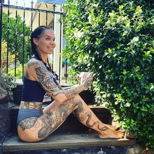 dragon girl tattoos , FIERCE DRAGON TATTOO DESIGNS FOR WOMEN