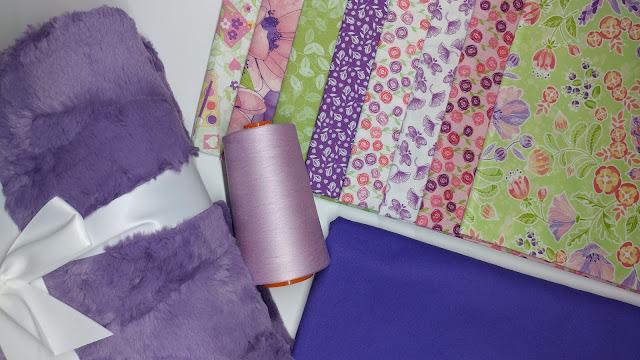 Garden Journal fabrics, Aurifil, and Shannon Cuddle