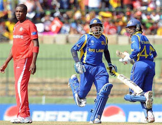 Sri Lanka vs Zimbabwe 26th Match ICC Cricket World Cup 2011 Highlights